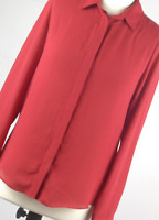 Atmosphere Red Womens Blouse Size 10 (Regular)