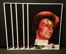 New listing David Bowie (5) Mick Ronson Icons Book Signing Promotion Cards.