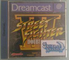 STREET FIGHTER 3 DOUBLE IMPACT DREAMCAST SEGA USATO PAL ITA OTTIME CONDIZIONI.