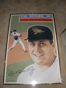 1992 Cal Ripken Jr. GEO GRAPHICS Poster 24 x 36 RARE Limited Edition