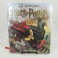 Harry Potter and the Sorcerer's Stone Illustrated by Jim Kay Damaged HC #1 x Lib