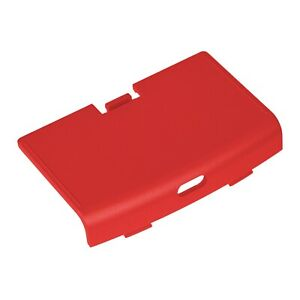 Game Boy Advance USB C Battery Cover Red RetroSix CleanJuice Back GBA