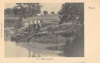 CPA CHINE AMOY WATER IRRIGATION (cpa rare  china