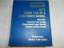 1989 MOTOR'S TUNE UP & ELECTRONICS MANUAL 85 86 87 88 89 FORD CHRYSLER GM
