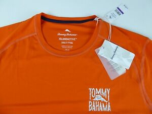 Tommy Bahama Beach Pro Tech Crewneck Stretch T-Shirt NWT $85 Island Active UPF30