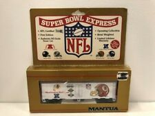 Mantua Super Bowl Express Washington Redskins HO Scale Team Train Car 733-828
