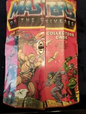 Mattel He-Man Masters of the Universe Collector Case w/8 Action Figures