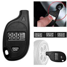 Digital Schwarz Reifendruckmesser Luftdruckprüfer Reifendruckprüfe Messgerät