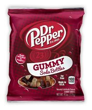 Dr Pepper Candy Soda Bottle Gummy gummies 128g Pack - American US Import -TLCC