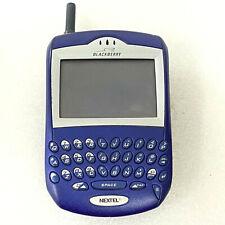 Rim Research In Motion BlackBerry 7510 - Blue Nextel Smartphone As Is Sr/4L