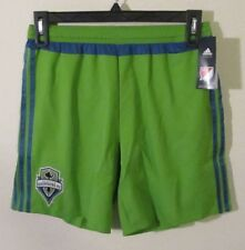 NWT Adidas Seattle Sounders FC Mens Replica Shorts S Rave Green MSRP$40