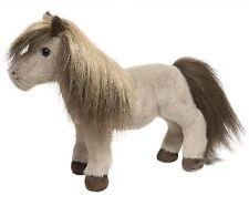 """Douglas Taffy MOCHA SHETLAND PONY 9"""" Plush Stuffed Animal Horse Cuddle Toy NEW"""