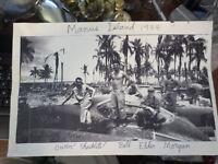 1944 MANUS ISLAND WWII PHOTO