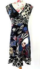 101 IDEES Hippie Grunge Alternative Dress Size M (UK 12)