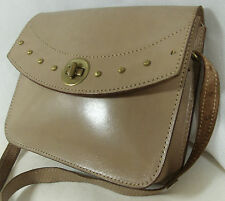 Vintage Leather Saddle satchel Shoulder Bag