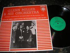 GLENN MILLER & ORCHESTRA SUNSET SERENADE BROADCAST 22 NOV 1941 JAZZ BAND EB417