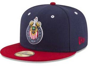 Official Liga MX Club Deportivo Guadalajara Chivas New Era 59FIFTY Fitted Hat