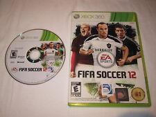 FIFA Soccer 12 (Microsoft Xbox 360) Original Release Game in Case Excellent!