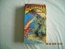 Godzilla Vs The Sea Monster VHS Sci-Fi Monster Movie Fun To Watch Cult Following