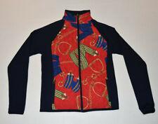 WOW BEAUTIFUL Women's RALPH LAUREN LRL Full Zip Equestrian Jacket Medium EUC B18