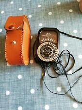 Waltz Super Exposure 2 Light Meter With leather Case