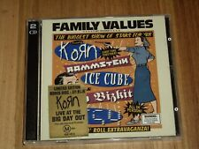 Korn, Rammstein, Ice Cube & More *2 x Cd ' Family Values Tour '98 ' 1999 Exc