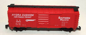 N Scale Boxcar in Red marked Southern Pacific with Rapido Couplers