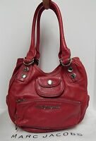 New Marc by Marc Jacobs Fuscia Leather Hobo Shoulder Bag