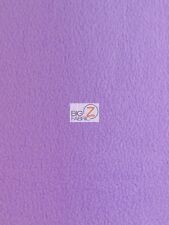 SOLID POLAR FLEECE FABRIC (ANTI-PILL) - Lavender - SOLD BTY 60""