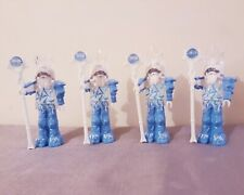 Playmobil 4 Ice Wizards , mage, king, castle knight figures, fantasy