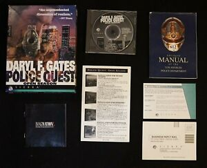 POLICE QUEST IV: OPEN SEASON - US Release - CD-ROM - Complete