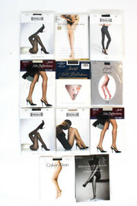 Wolford Donna Karan Womens Sheer Tights Stockings Size 2 B Medium Lot 11