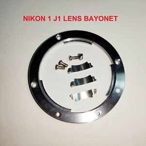 GENUINE NIKON 1 J1 LENS BAYONET RING, LENS LOCK SPRINGS, SCREWS FOR REPAIR
