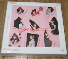 TWICE PAGE TWO 2nd Mini Album PINK Ver. CD + PHOTOCARD + FOLDED POSTER NEW