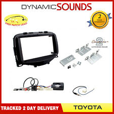 CTKTY17 Double Din Car Stereo Fascia Fitting Kit for Toyota Aygo 2014 Onwards