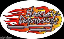 AUTHENTIQUE STICKER HARLEY DAVIDSON PIPES LETTERS GM