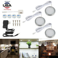 Mini Night Touch Light LED Puck Lights Portable Powered Closet Counter Kitchen