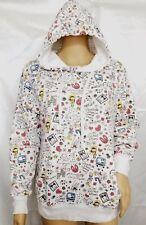 Sweet Rain Modcloth Graphic Design Artbox Hoodie Jacket Pullover S/M