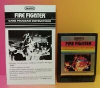 Atari 2600 Fire Fighter Game & Instruction Manual Tested Works Rare