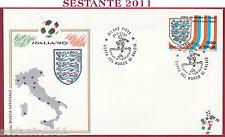 ITALIA FDC BUSTA UFFICIALE ITALIA '90 COPPA MONDO INGHILTERRA 1990 MILANO U864