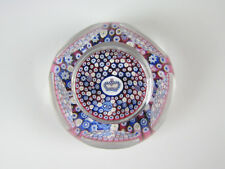 Whitefriars Art Glass Paperweight EIIR 1952-1977 Coronation Queen Elizabeth