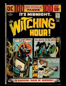 "DC ""IT'S MIDNIGHT, THE WITCHING HOUR"" BRONZE ERA BOX-LOT 10 BOOKS"