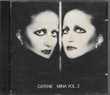 "MINA - RARO CD 1 STAMPA MADE IN SWITZERLAND "" CATENE VOL.2  """