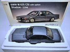 AutoArt 1:18 70529 BMW M635 CSI M 635 e24 Shadow Line Delphin Metallic NEU OVP