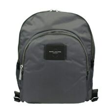 Marc Jacobs M0013605-074 Double Pack Shadow Gray Nylon Backpack Unisex - New!