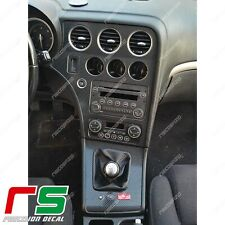 Alfa Romeo 159 Decal cover tuning consolle centrale cornice cambio carbon APA