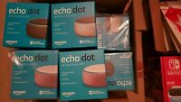 New Amazon Echo Dot 3rd Generation Smart Speaker with Alexa - all Colors
