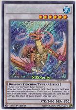 "Yu-Gi-Oh! ""CORAL DRAGON"" TDIL-EN051 1st EDITION SECRET RARE YuGiOh HOLOFOIL"