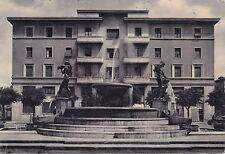 MODENA - Fontana Monumentale dei Fiumi (Secchia e Panaro) e Albergo Italia 1952
