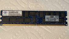 Nanya 4GB 2Rx4 PC2-5300P 1.90V CL5 ECC REG NT4GT72U4ND0BV-3C for Server